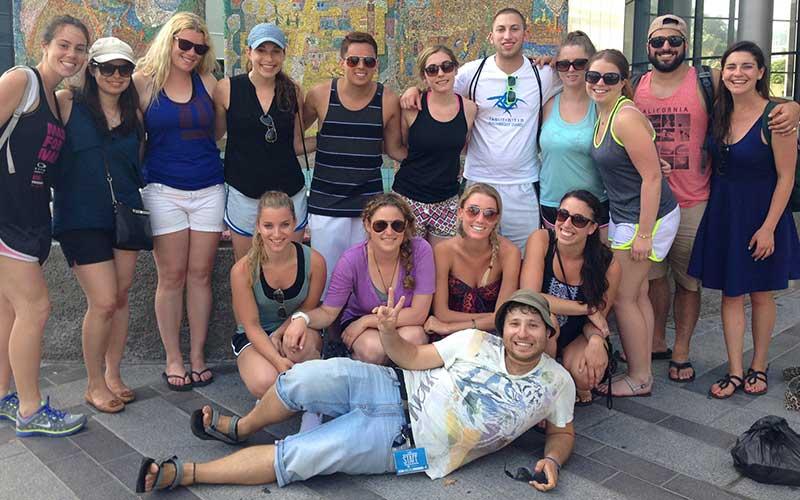 Photo of People on Birthright Israel