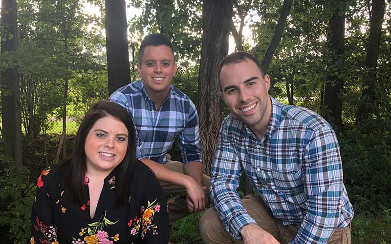 Photo of Ethan, Alan and Kim